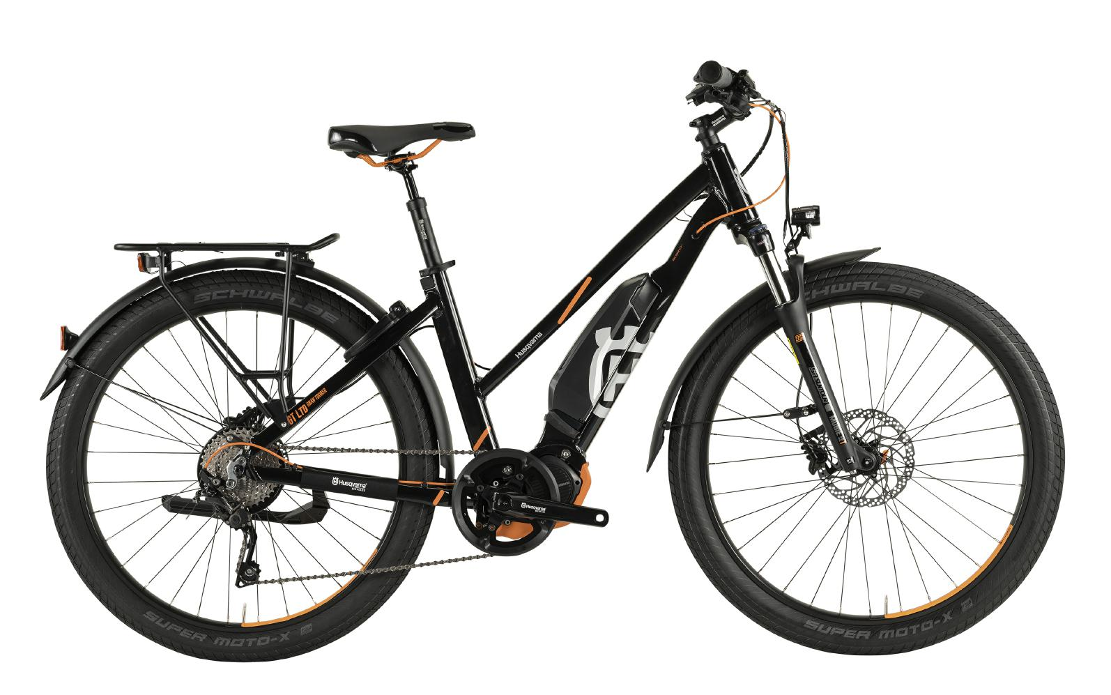 Husqvarna Gran Tourer Anniversary Model GT LTD - black