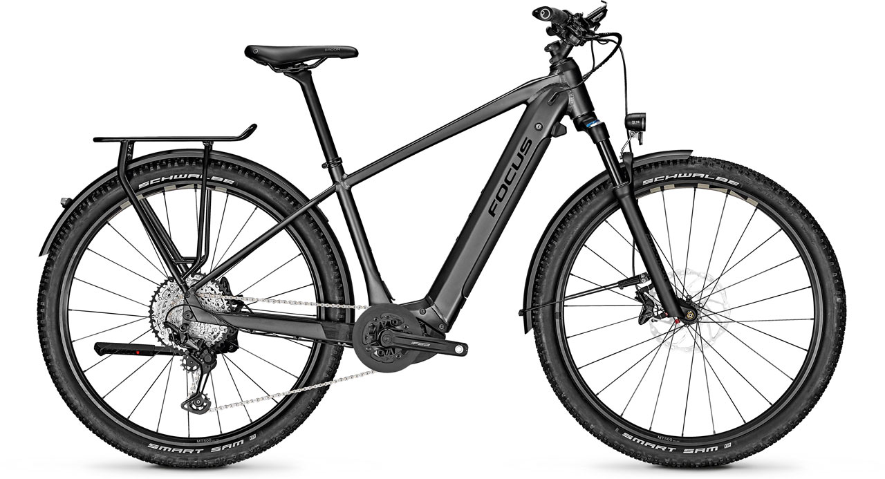 Focus Aventura² Trekking e-Bikes 2017