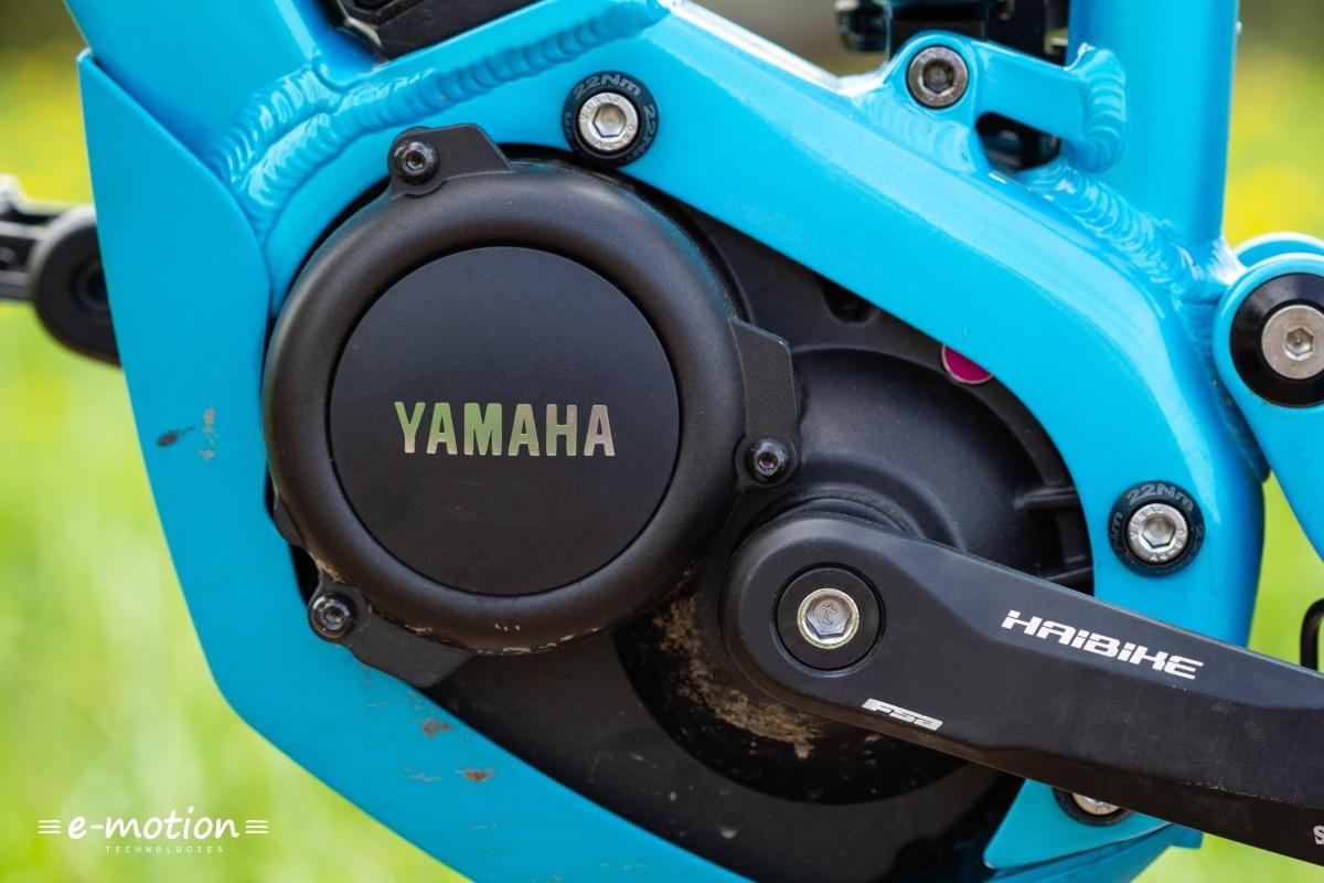 Der Yamaha PW-SE Mittelmotor treibt das Haibike SDURO FullLife 6.0 an