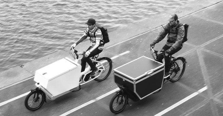 Vorteile von Lasten e-Bikes
