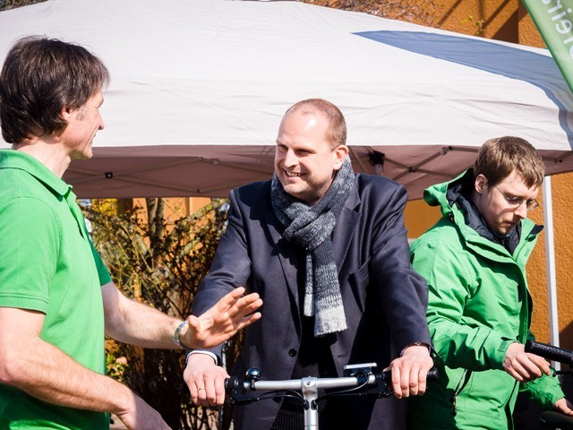 Neueröffnung e-motion e-Bike Welt Frankfurt