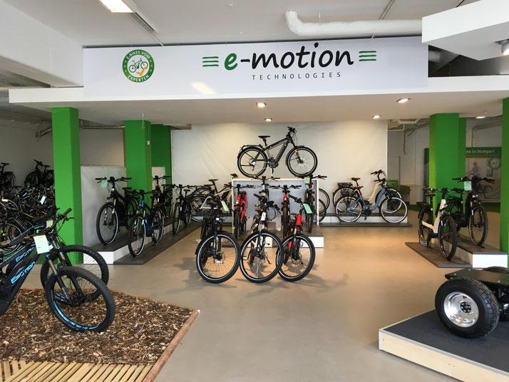Neueröffnung e-motion e-Bike Welt Göppingen