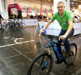 e-motion e-Bike Welt Düsseldorf Interview Extra Energy