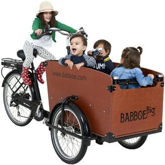 Lasten e-Bikes von Babboe