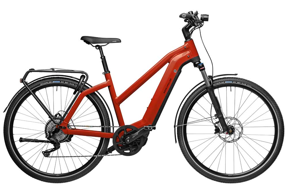 Riese & Müller Charger3 Mixte touring - sunrise