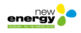 Messe New Energy 2018 in Husum