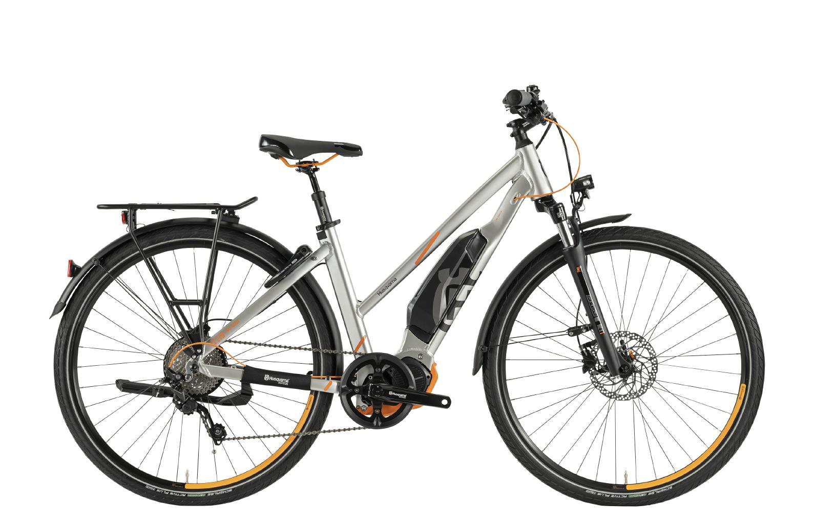 Husqvarna e-Bikes Light Tourer Anniversary Model LT LTD - trapez,  silver