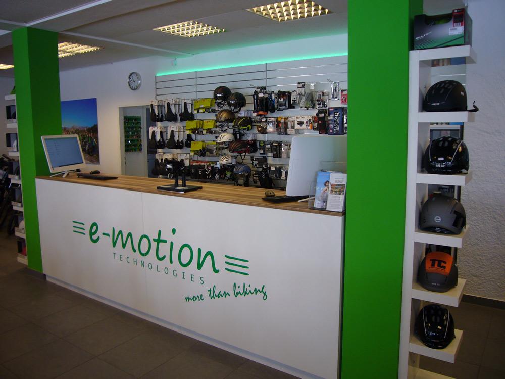Beratung vom Experten in der e-motion e-Bike Welt München Süd