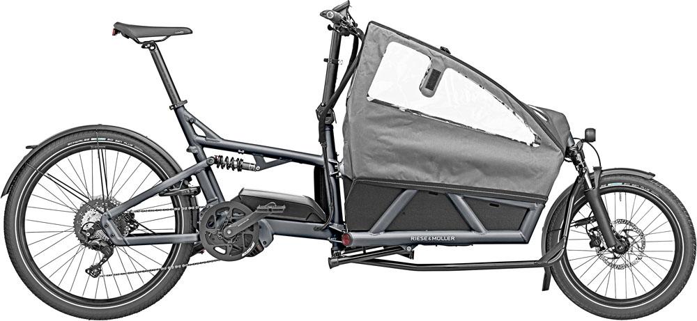 Riese & Müller Load 60 Touring 2020 - coal grey matt