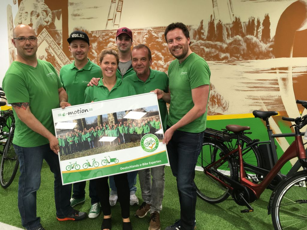 Pedelec Experten in der e-motion e-Bike Welt Bremen