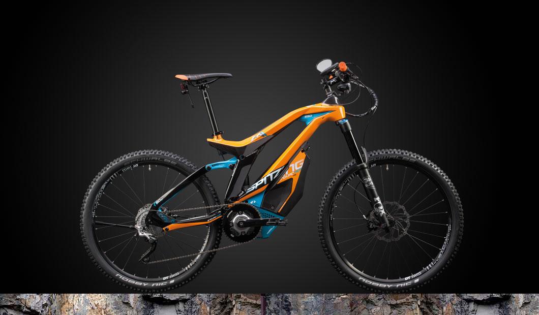 M1 Spitzing Speed-Pedelec 2020 - orange