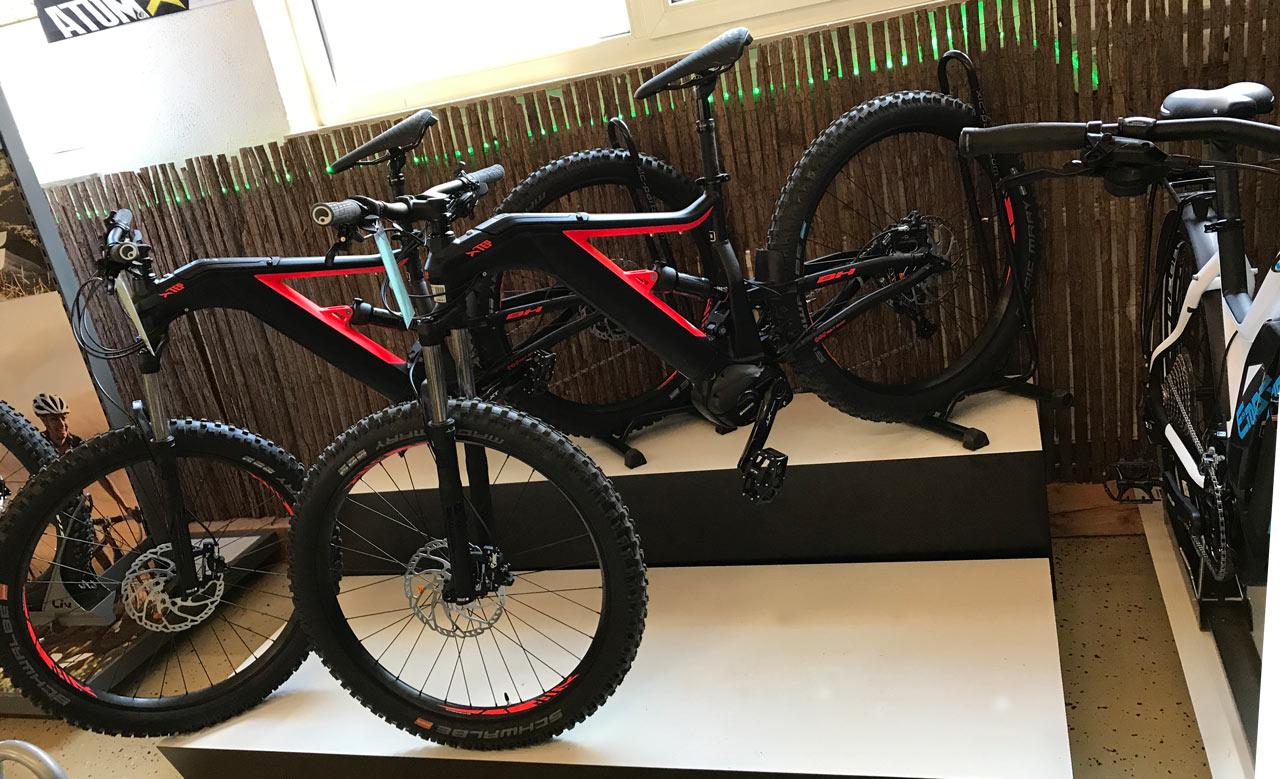 Zwei Bikes aus unserer BH e-Bike Welt