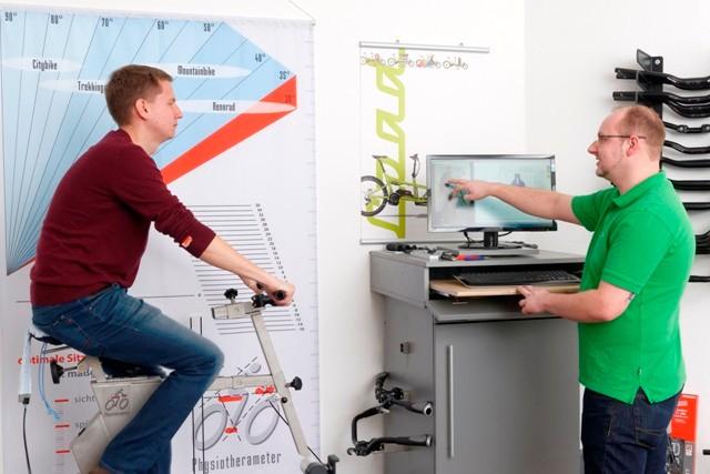 e-bike Sattelkompetenz im emotion e-Bike Premium Shop Hannover