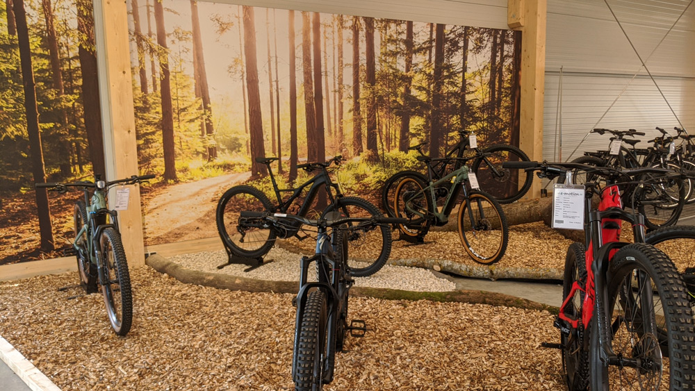 Finden Sie Ihr e-Mountainbike in der e-motion e-Bike Welt Westhausen!