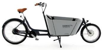 Babboe Lastenfahrrad mit Elektromotor City Mountain 2020