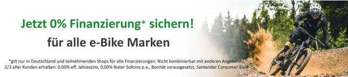e-Bike mit 0% Finanzierung kaufen in Sankt Wendel