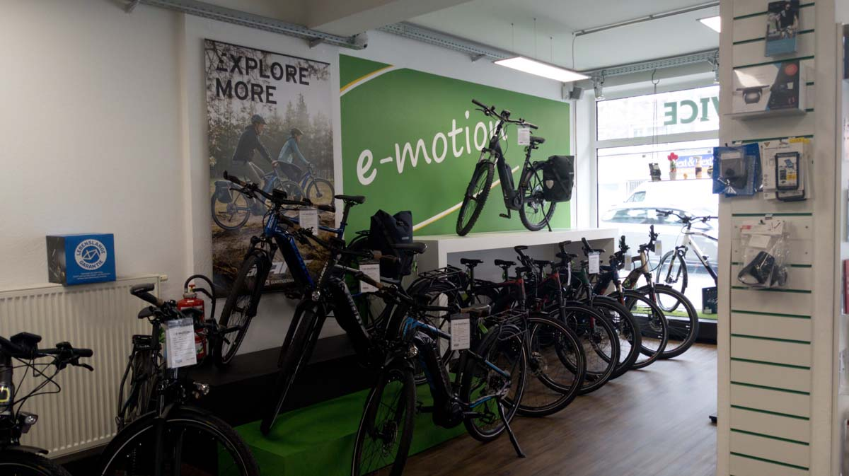 City e-Bikes in Bochum