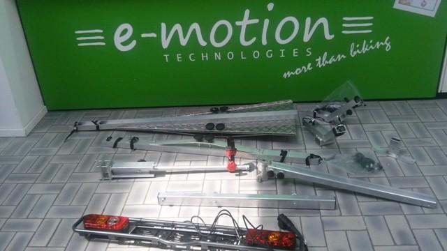 Ideale Transportmöglichkeit fürs e-Bike: Ein Heckträger fürs Auto
