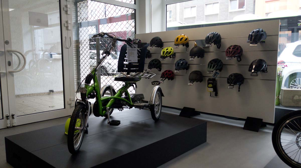 e-Dreiräder in Bochum