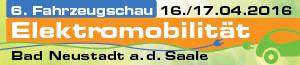 e-motion Würzburg auf der 6. Fahrradschau Elektromobilität