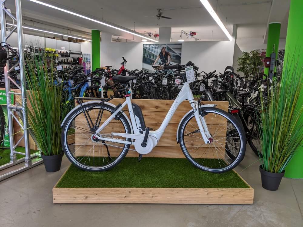 Erleben Sie unsere riesige Auswahl an e-Bikes, Pedelecs und Elektrofahrrädern!