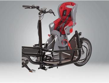 Pfau Tec Carrier Kindersitz Lasten e-Bike Zubehör