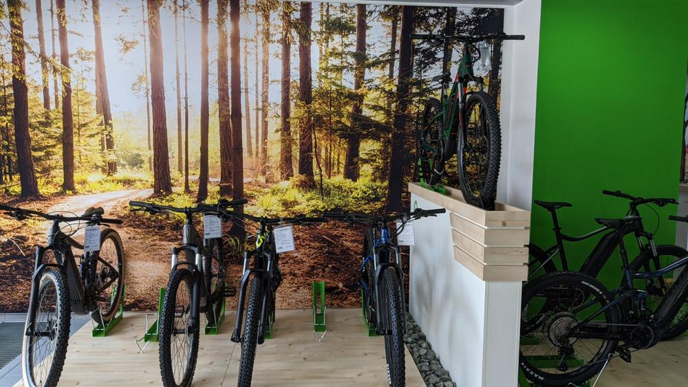 Mit dem idealen e-Mountainbike die Wälder unsicher machen...