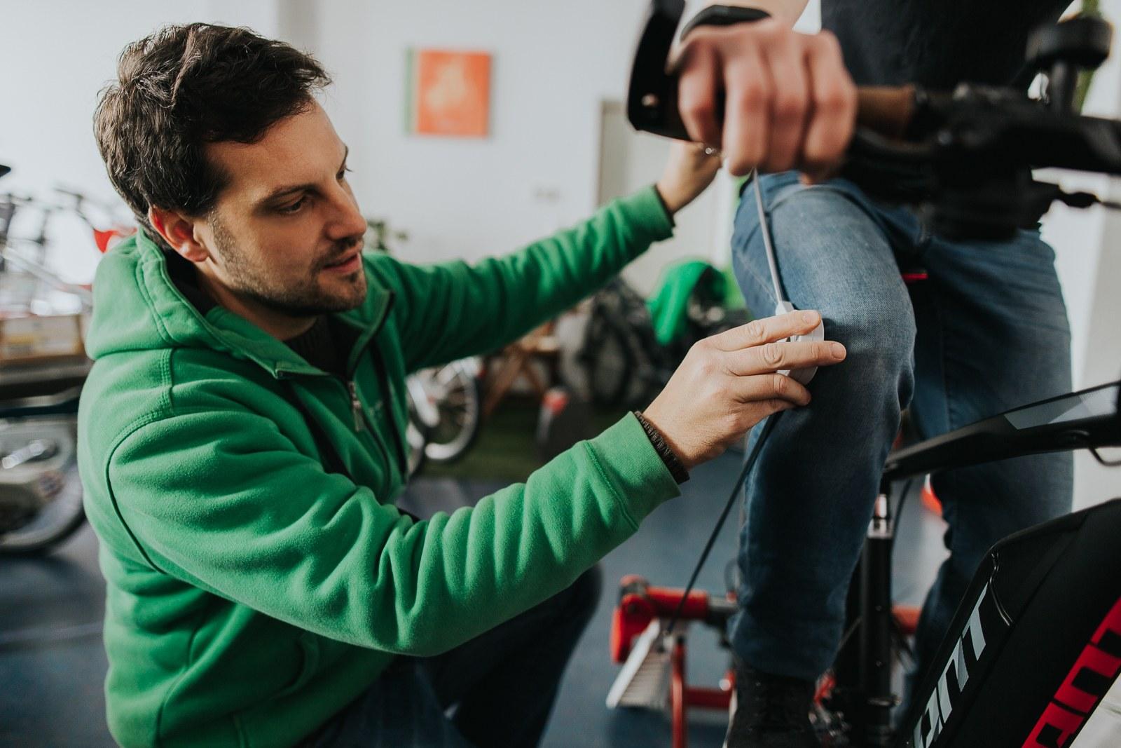 Ergonomisches Zubehör, Bedarfsanalysen und Bikefitting in der e-motion e-Bike Welt Worms