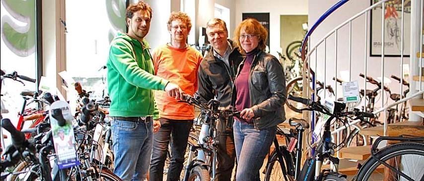 e-motion Worms freut sich auf den Fahrradtag