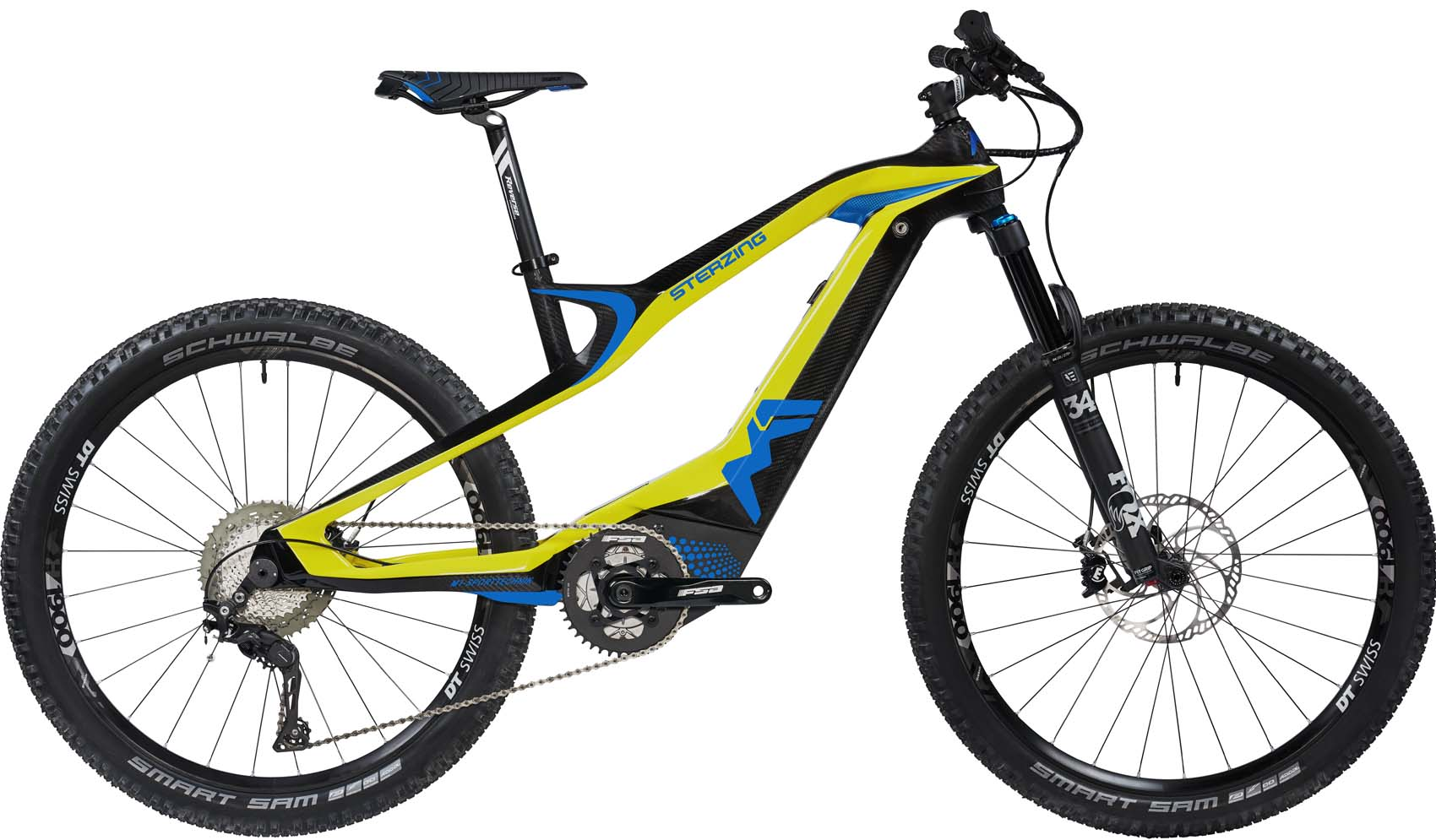 M1 Sterzing Evolution Pedelec 2020 - limoncello yellow, carbon