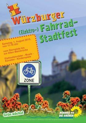 Würzburger Elektrofahrradfest 2015
