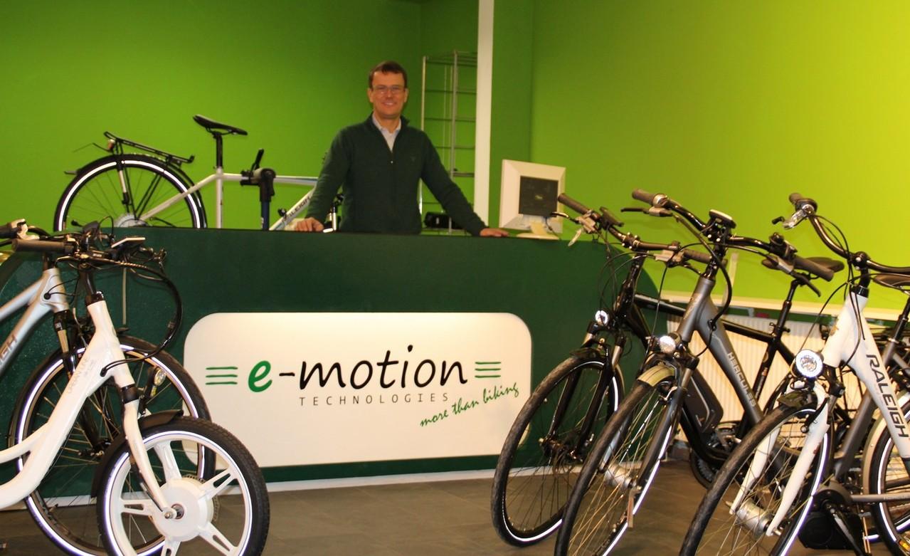 Eröffnung e-motion e-Bike Shop Hamburg