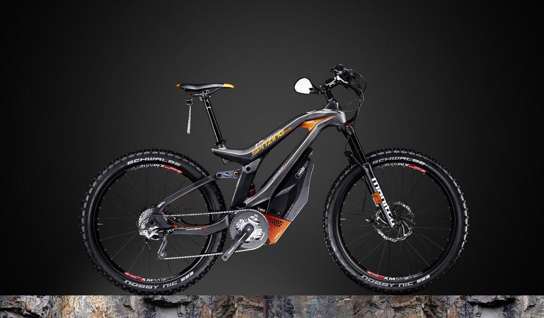M1 Spitzing Plus Speed-Pedelec 2019 - orange