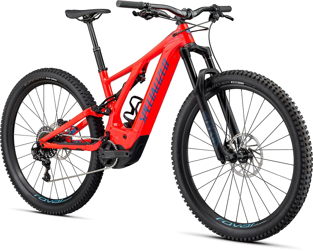 Turbo Levo 2020 - rocket red,storm grey