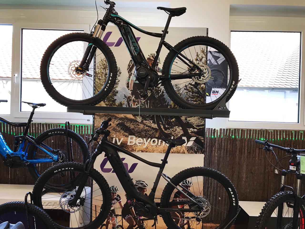 Zwei e-Bikes aus unserer Giant e-Bike Welt