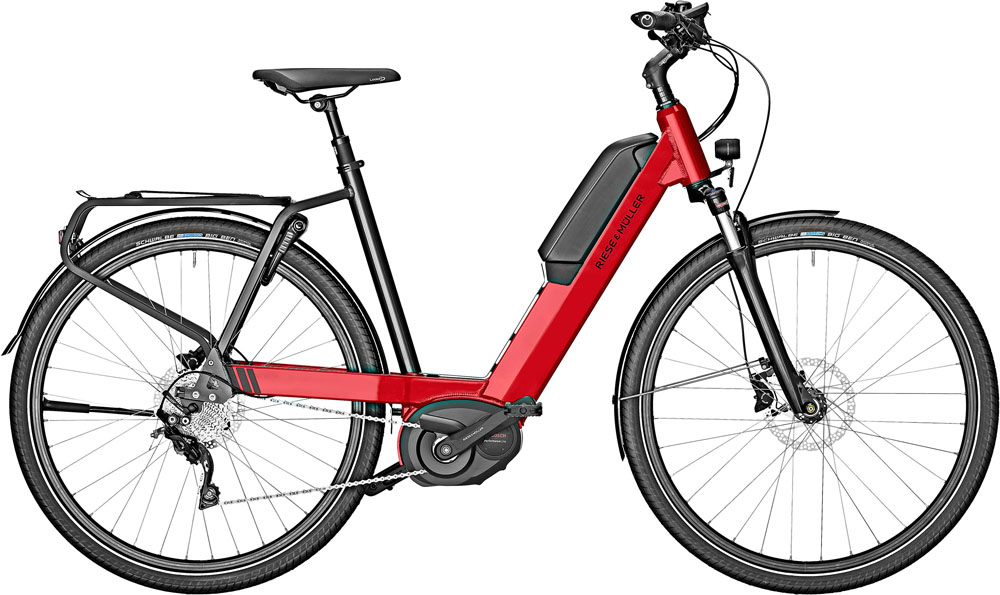Riese & Müller Nevo Touring 2020 - fire red