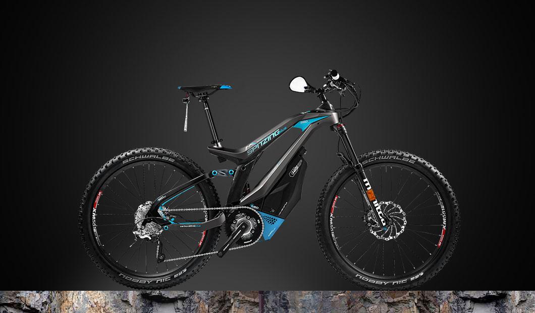 M1 Spitzing Plus Speed-Pedelec 2020 - blau