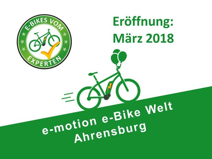 Neueröffnung e-motion e-Bike Welt Ahrensburg