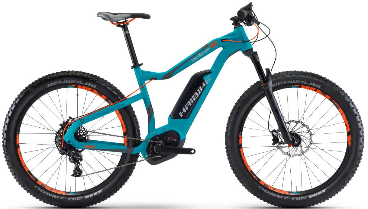 Haibike XDURO HardSeven 6.0 cyan/anthrazit/orange