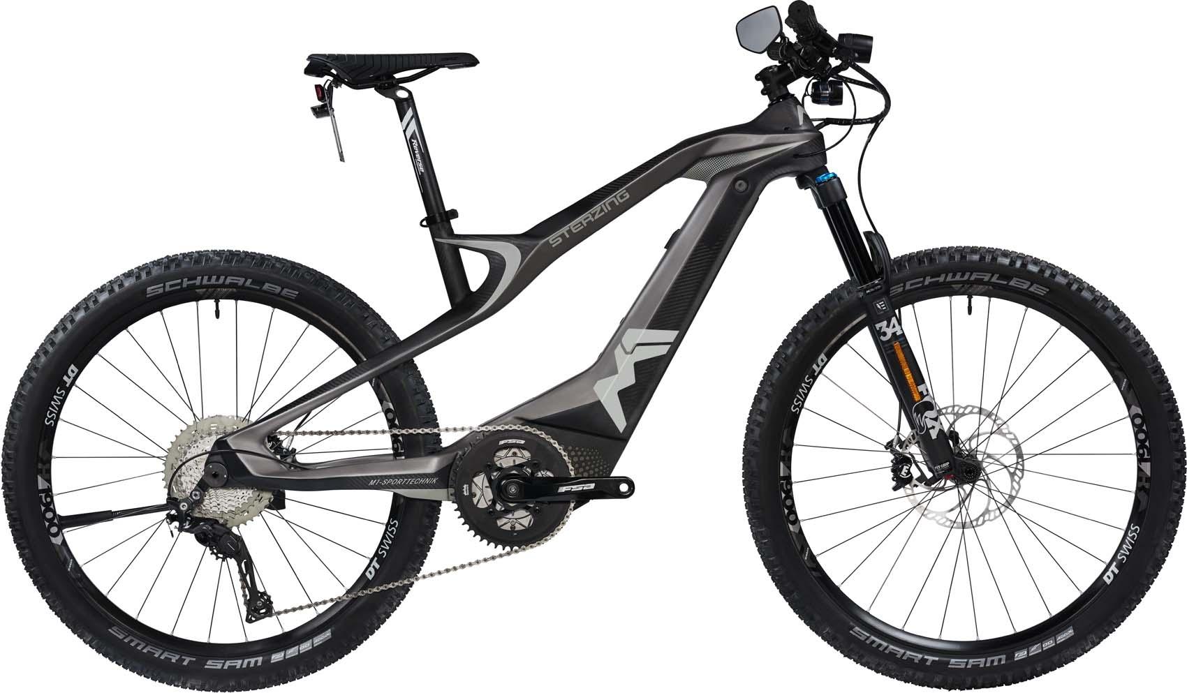 M1 Sterzing Evolution S-Pedelec 2020 - cliff gray/carbon