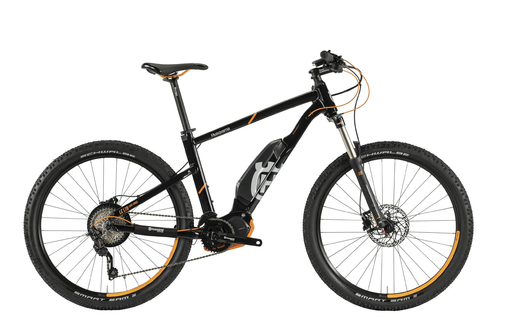 Husqvarna e-Bikes Light Cross Anniversary Model LC LTD - black, 27,5''