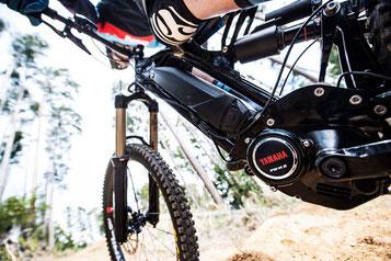 Mit dem Yamaha PW-X2 Antrieb meistern Sie auch anspruchsvolle Trails