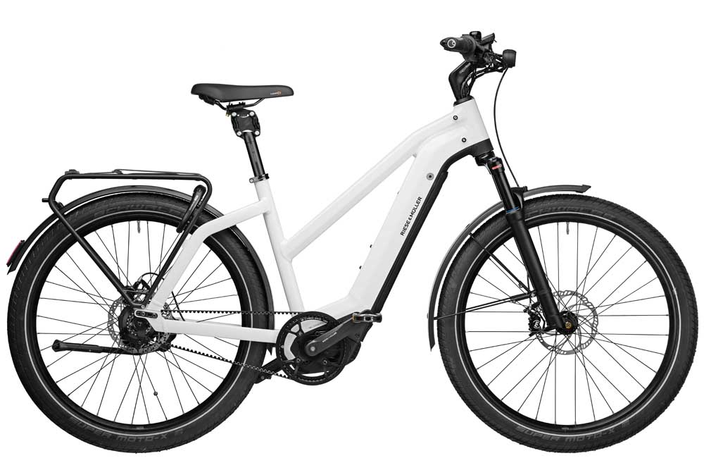Riese & Müller Charger3 Mixte rohloff GT - ceramic white