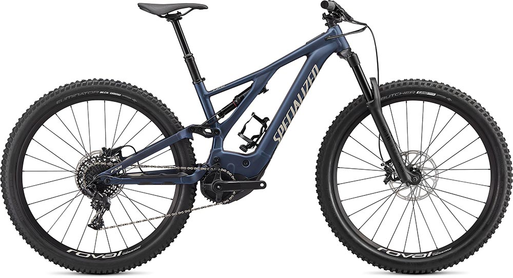 Turbo Levo 2020 - navy,white mountains,black