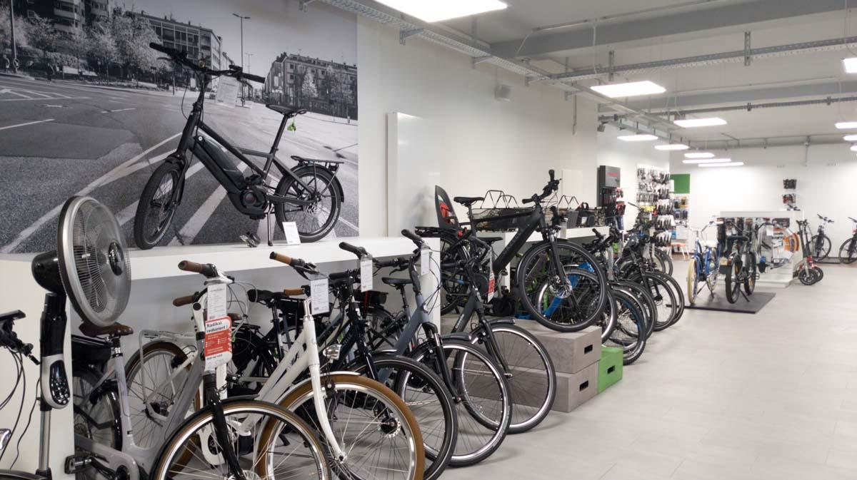 Verschiedenste e-Bike Typen in Bochum