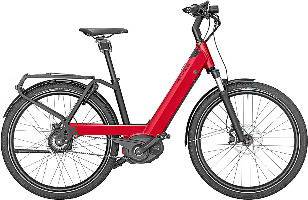 Riese & Müller Nevo GT Rohloff 2020 - dynamic red metalliic