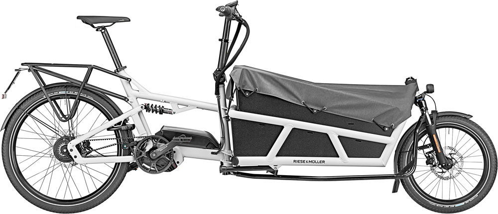 Riese & Müller Load 75 rohloff HS 2020 - white