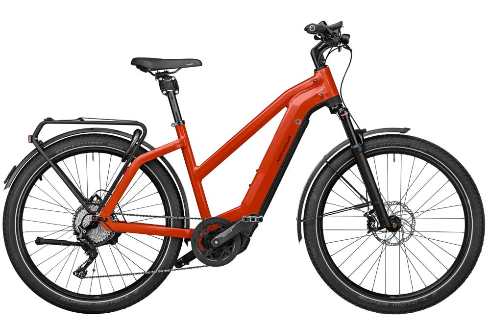 Riese & Müller Charger3 Mixte GT touring - sunrise