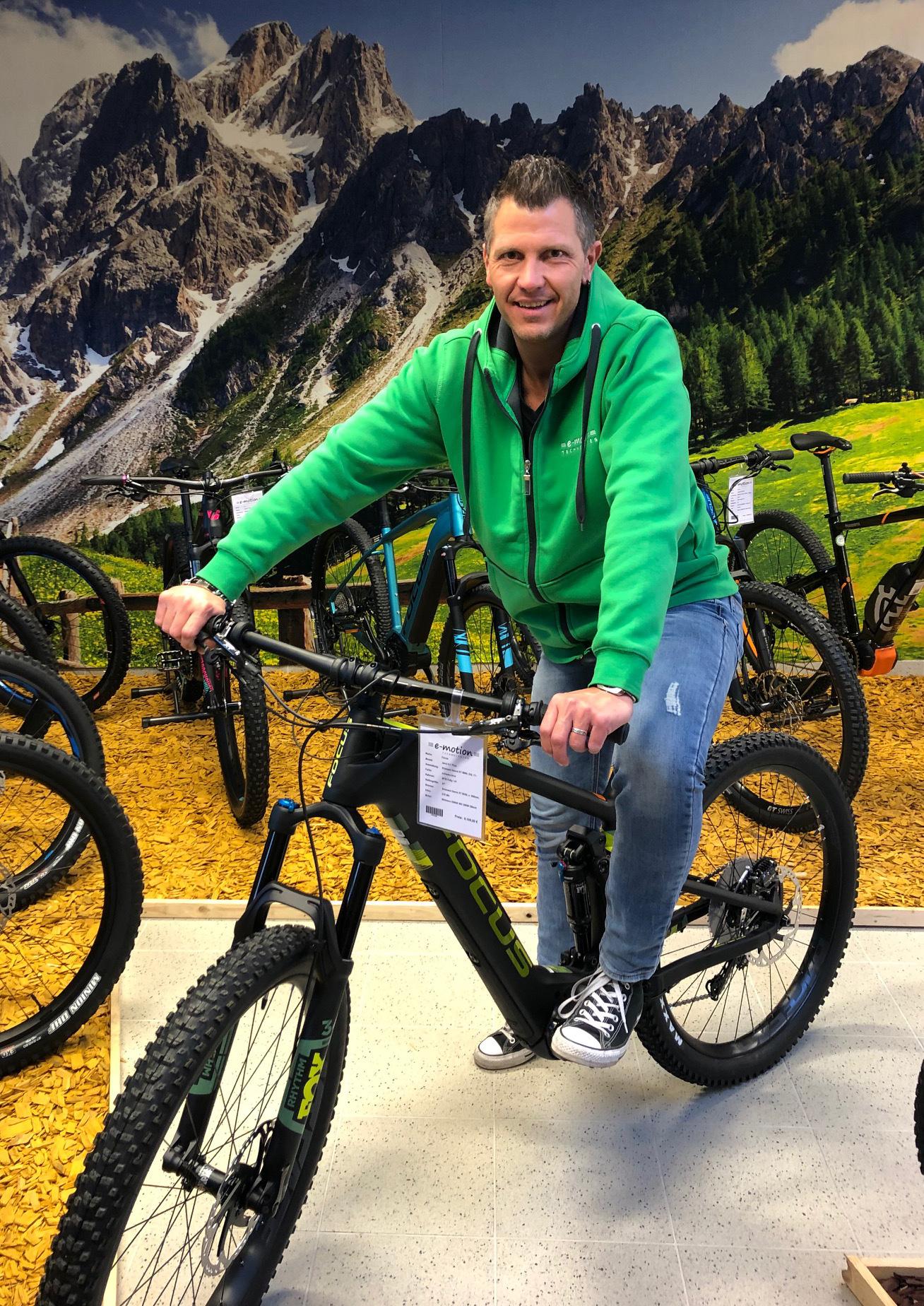 e-motion e-Bike Experte Stefan Heger in Wien - Österreich