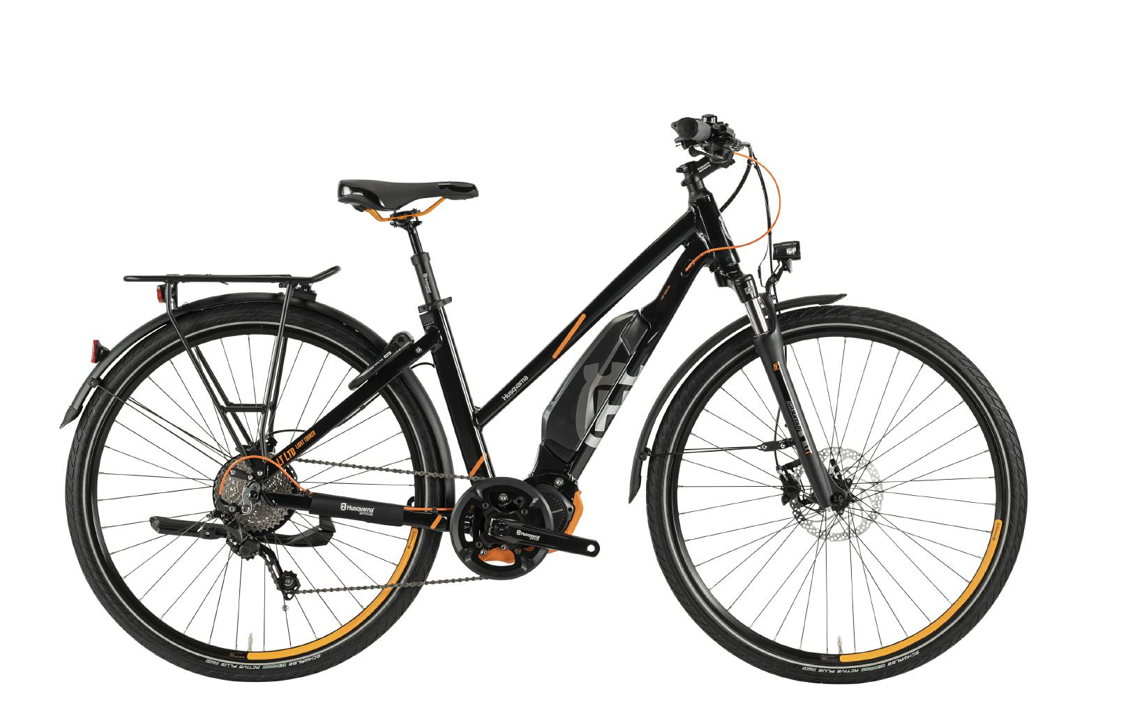 Husqvarna e-Bikes Light Tourer Anniversary Model LT LTD - trapez, black